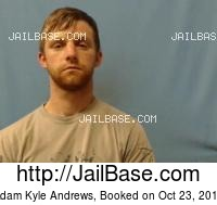 ADAM KYLE ANDREWS mugshot picture