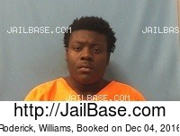 RODERICK, WILLIAMS mugshot picture