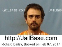 RICHARD BAILEY mugshot picture