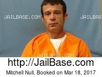 MITCHELL NULL mugshot picture