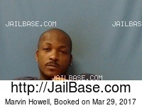MARVIN HOWELL mugshot picture