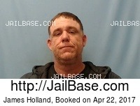 JAMES HOLLAND mugshot picture