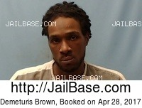 DEMETURIS BROWN mugshot picture