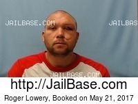 ROGER LOWERY mugshot picture