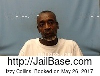 IZZY COLLINS mugshot picture