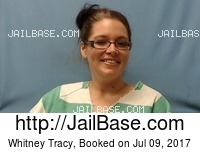 WHITNEY TRACY mugshot picture