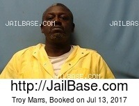 TROY MARRS mugshot picture