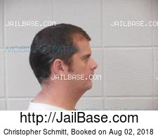 Christopher Schmitt mugshot picture