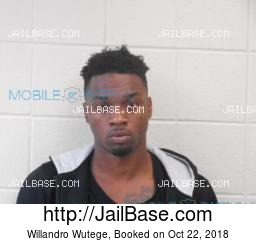 Willandro Wutege mugshot picture