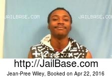 Jean-Pree Wiley mugshot picture