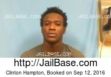 Clinton Hampton mugshot picture