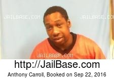 Anthony Carroll mugshot picture