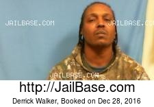 Derrick Walker mugshot picture