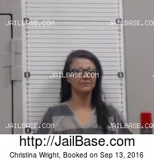 Christina Wright mugshot picture