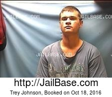 Trey Johnson mugshot picture