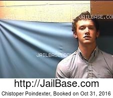 Chistoper Poindexter mugshot picture
