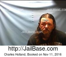 Charles Holland mugshot picture