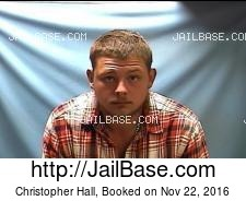 Christopher Hall mugshot picture