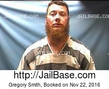 Gregory Smith mugshot picture