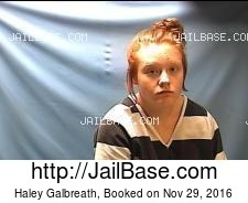 Haley Galbreath mugshot picture