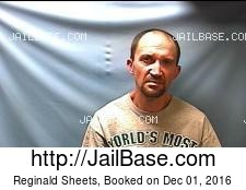 Reginald Sheets mugshot picture