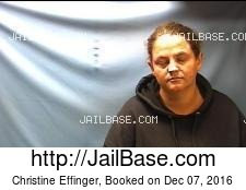 Christine Effinger mugshot picture
