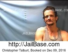 Christopher Talburt mugshot picture