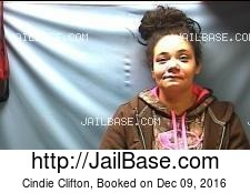 Cindie Clifton mugshot picture