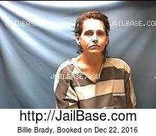 Billie Brady mugshot picture