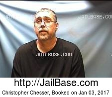 Christopher Chesser mugshot picture