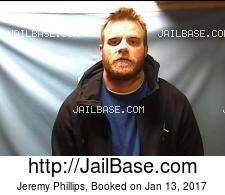 Jeremy Phillips mugshot picture