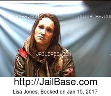 Lisa Jones mugshot picture