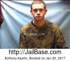 Anthony Keehn mugshot picture