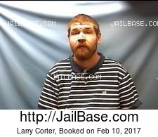 Larry Corter mugshot picture