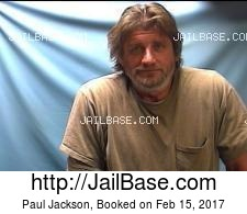 Paul Jackson mugshot picture