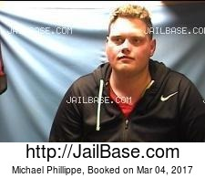 Michael Phillippe mugshot picture