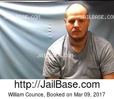 William Counce mugshot picture