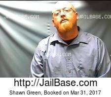 Shawn Green mugshot picture