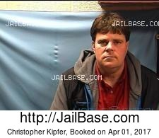 Christopher Kipfer mugshot picture