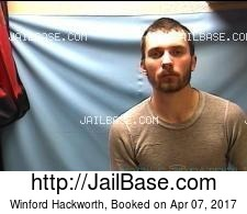 Winford Hackworth mugshot picture