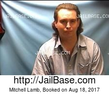 Mitchell Lamb mugshot picture