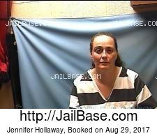 Jennifer Hollaway mugshot picture