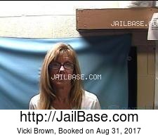 Vicki Brown mugshot picture