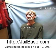 James Burris mugshot picture