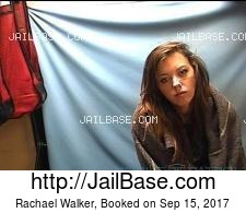 Rachael Walker mugshot picture