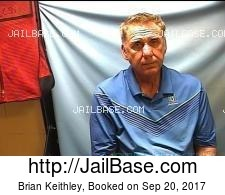Brian Keithley mugshot picture