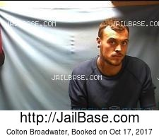 Colton Broadwater mugshot picture