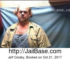 Jeff Crosby mugshot picture