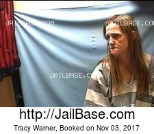 Tracy Warner mugshot picture