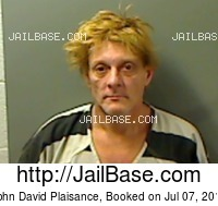 JOHN DAVID PLAISANCE mugshot picture